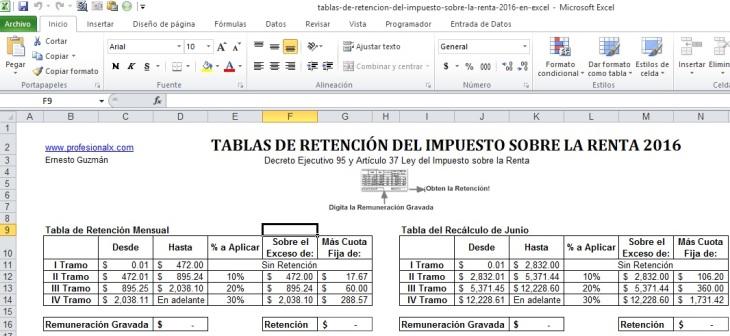 Tabla De Para Calculo De Isr Asalariados 2016 | New Style